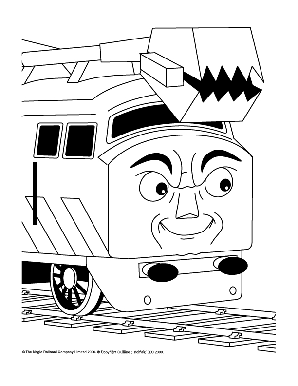 kleurplaten thomas de trein henry