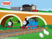 Thomas, Percy & Travis
