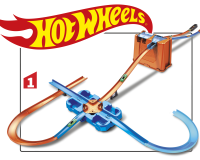 Hot Wheels Track Builder Deluxe Stunt Box De Compleetste Collectie Hot Wheels Auto S Racesets En Racebanen Mattel