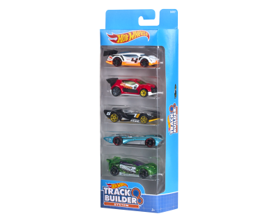 Hot Wheels Auto's pack 5 - Trackbuilder