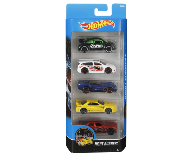 Hot Wheels Auto's pack 5 - Nightburnerz-1