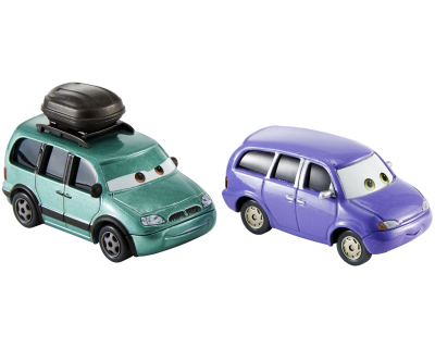 Disney Cars 3 - Minny & Van- diecast