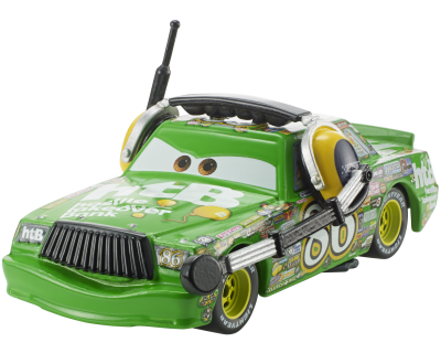 Disney Cars 3 diecast - Chick Hicks with headset
