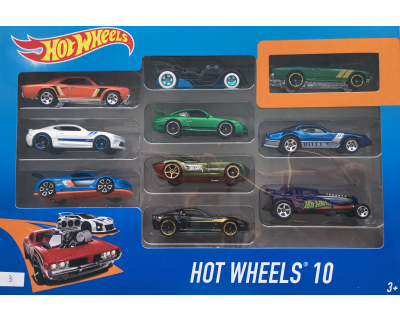 Hot Wheels auto's pack 10