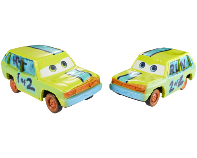 Disney Cars 3 - Hit Rercute & Run Couse