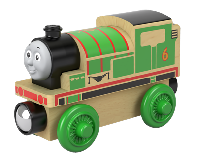 Thomas de Trein hout - Real wood Percy