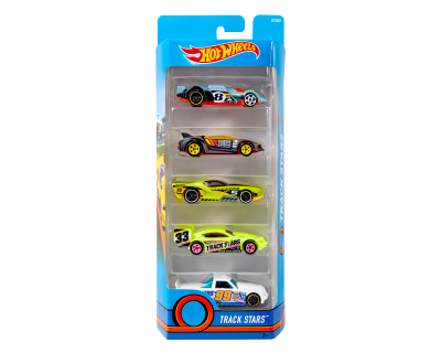 Hot Wheels Auto's pack 5 - Track Stars