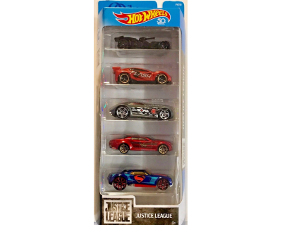 Hot Wheels Auto's pack 5 - Justice League