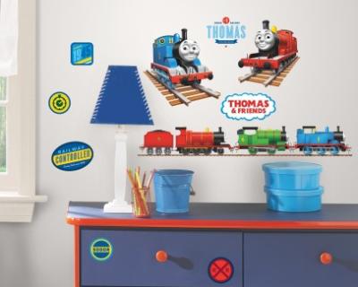 Foam Stickers Kinderkamer.Thomas De Trein Muur Stickers 33 Stuks Kinderkamer Decoratie