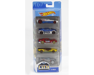 Hot Wheels Auto's pack 5 - City