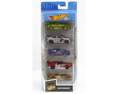 Hot Wheels Auto's pack 5 - Nightburnerz-2