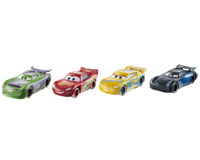 Disney Cars 3 Fireball Beach - set van 4 auto's