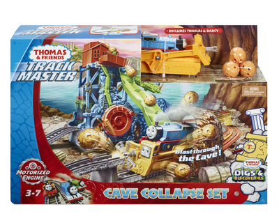 Thomas TrackMaster Motorised - Thomas Cave Collapse Set