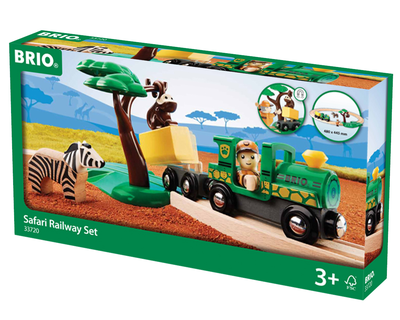 33720 BRIO Trein set safari
