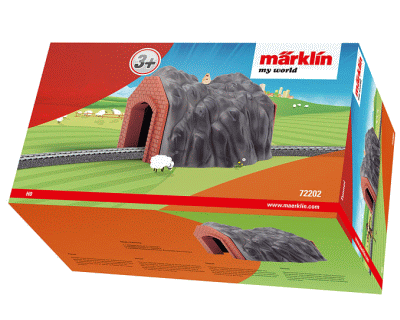72202 Marklin My World - Tunnel