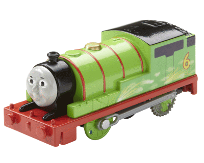 Thomas TrackMaster Motorised - Speed & Spark Percy