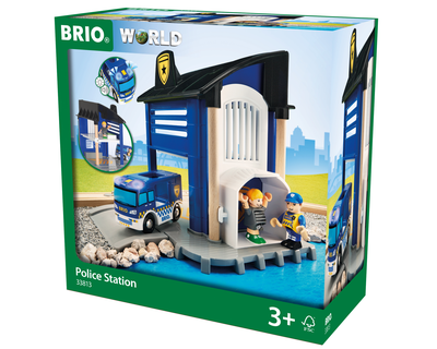 33813 BRIO Trein light & sound Politie station