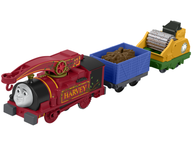 Thomas TrackMaster Motorised - Helpful Harvey