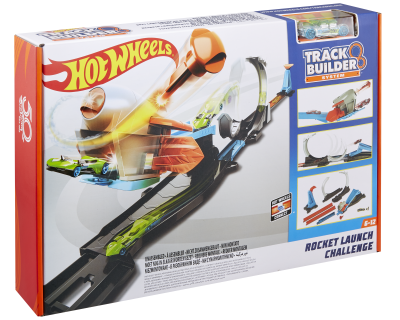 Hot Wheels Track Builder - Rocket Launch Challenge