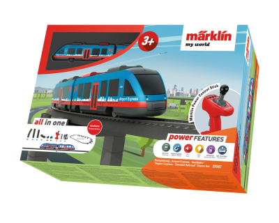 29307 Marklin My World Airport Express viaductspoorweg set