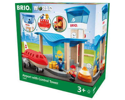 33883 Brio trein - Airport with Control Tower