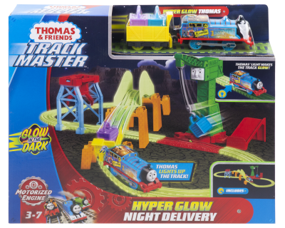 Thomas TrackMaster Gemotoriseerde - Night Glow Delivery Play Set