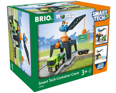 33962 BRIO trein Smart Tech Containerkraan