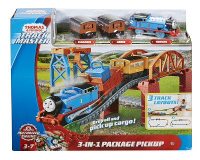 Thomas TrackMaster Gemotoriseerde - 3 in 1 Play Set