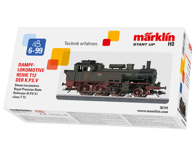 36741 Märklin Start up - Stoom Tenderlocomotief T 12