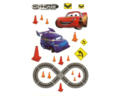 Disney Cars muurstickers 51pcs