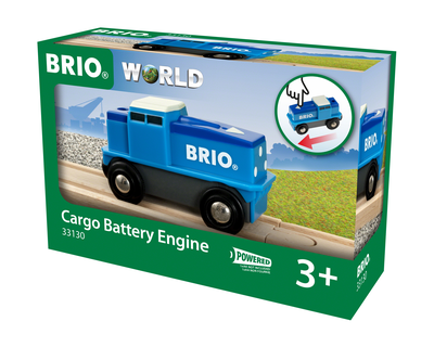 33130 BRIO Trein Cargo Battery Engine